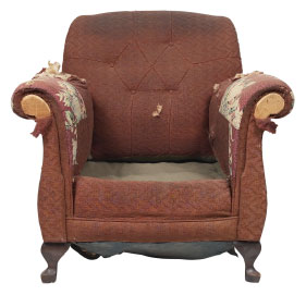 Furniture Medic of Halifax Upholstery and Leather Furniture Repairs and Restoration Before